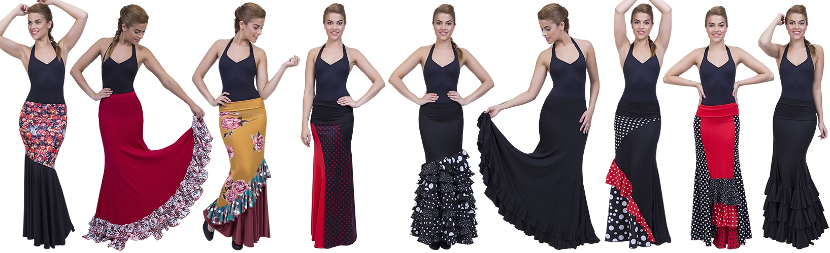 Flamenco Röcke