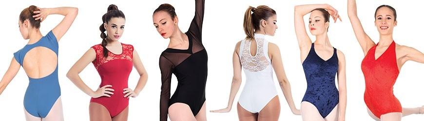 Maillots de ballet personalizados, elige tu diseño, tejido y color.